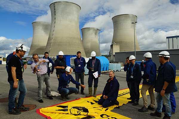 Formazione EDF sulla protezione dalle inondazioni