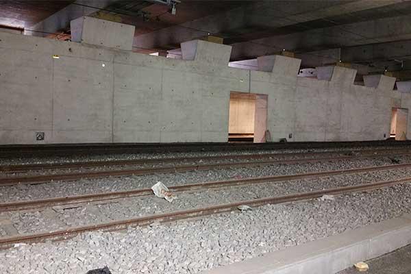 Diga antialluvione RER C SNCF