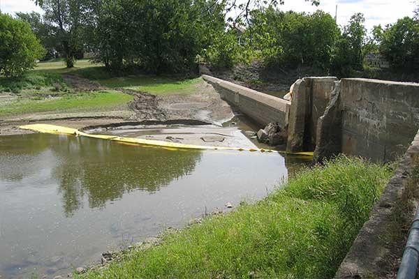deviazione del fiume Cofferdam