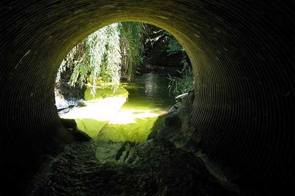 manutenzione del fiume Cofferdam