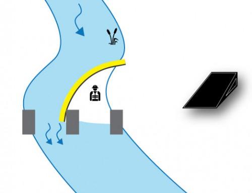 Caso 3 Paratoia appoggiata sul pilone di un ponte