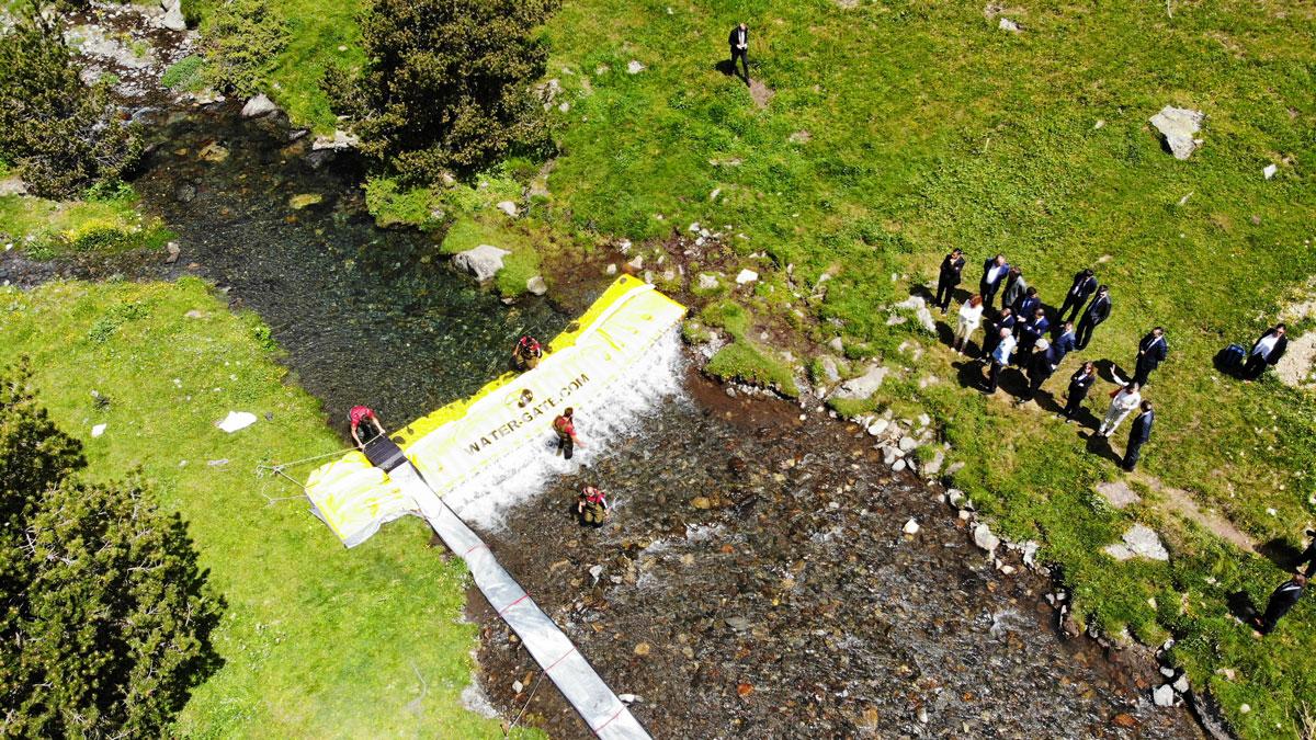Barrage WaterGate SOS rivieres