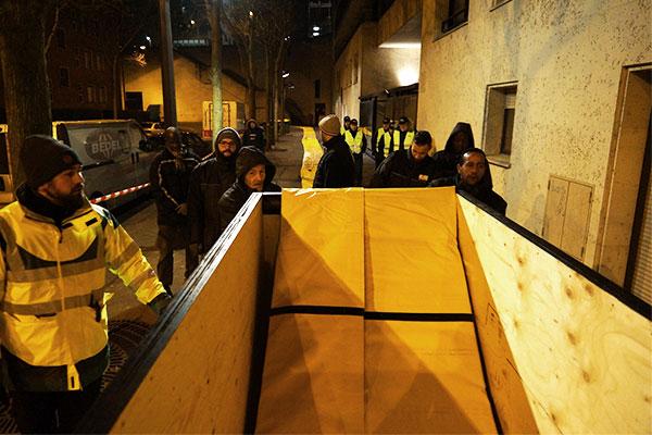 protezione dalle inondazioni di emergenza a Parigi