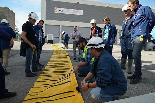 Protezione antialluvione EDF Megasecureurope