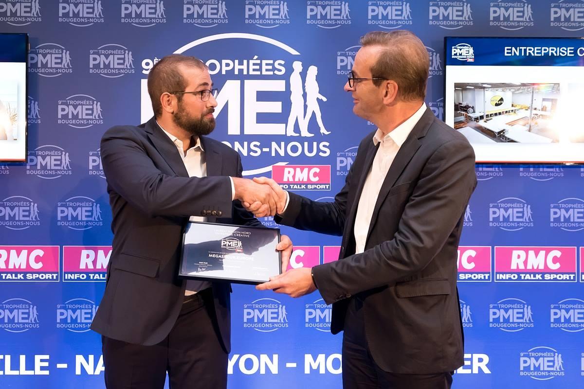 Nicolas Klein Trophées PME RMC BFM