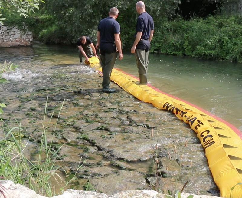 Come asciugare la soglia di un fiume in 3 minuti!