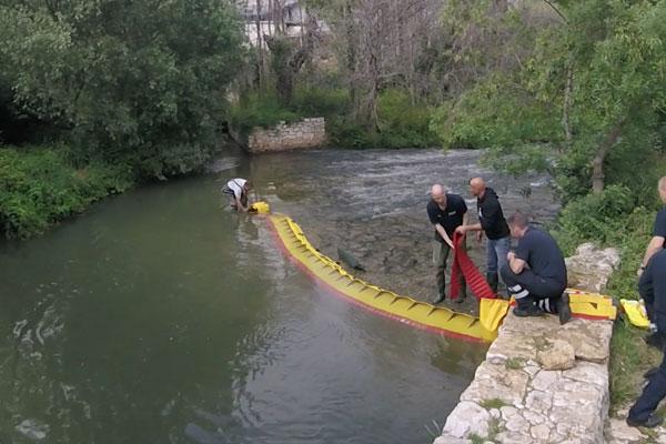 Come asciugare la soglia di un fiume in 3 minuti! Modello WL-06 con ballast integrato.
